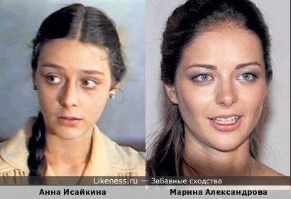 Почти копия- две актрисы