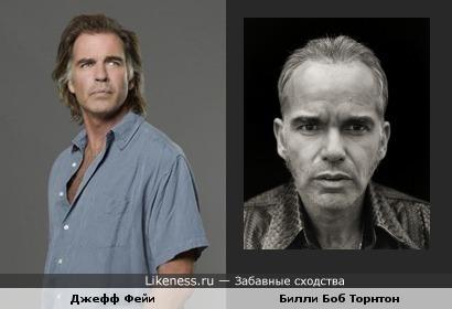 Постаревший Джефф Фейи похож на Билли Боб Торнтона