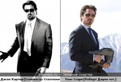 """Джон Картер(""""Убрать Картера"""") похож на Тони Старка(""""Железный человек"""")"""