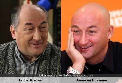 Алексей Мочанов похож на Бориса Клюева