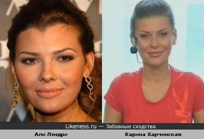 Мисс США 1995 Али Лэндри-копия Карины Харчинской