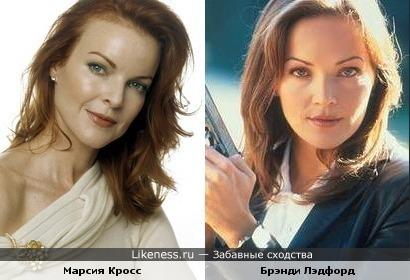 Брэнди Лэдфорд и Марсия Кросс