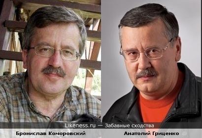 Польский президент и украинский министр