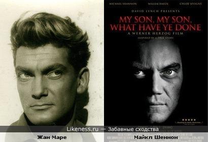 Майкл Шеннон на постере фильма похож на Жана Маре