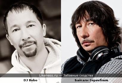 DJ Bobo и Байгали Серекбаев