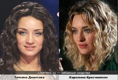 Татьяна Денисова и Каролина Кресчентили