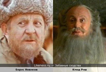 Панорамикс похож на Бориса Новикова