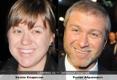 Келли Кларксон без макияжа напомнила Романа Абрамовича