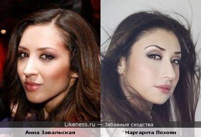 Анна Завальская(дуэт Алиби) и Маргарита Позоян(Голос)