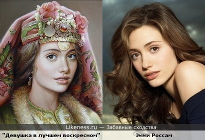 Портрет художницы Марии Илиевой похож на Эмми Россам