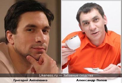 """Григорий Антипенко и Александр Попов из """"Уральских пельменей"""""""