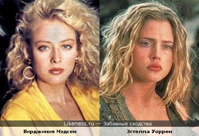 Вирджиния Мэдсен и Эстелла Уоррен