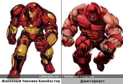 Броня Железного Человека Халкбастер и Джаггернаут