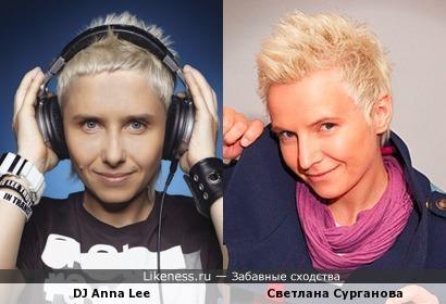 Анна Ли и Светлана Сурганова