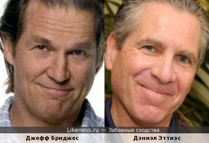 Джефф Бриджес и Дэниэл Эттиэс