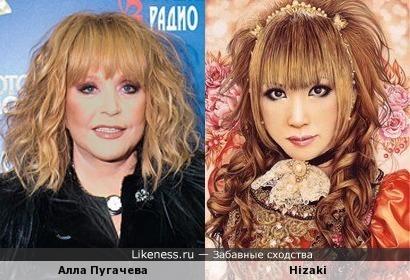 Гитаристка Hizaki напомнила Аллу Пугачеву