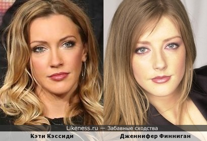 Кэти Кэссиди и Дженнифер Финниган