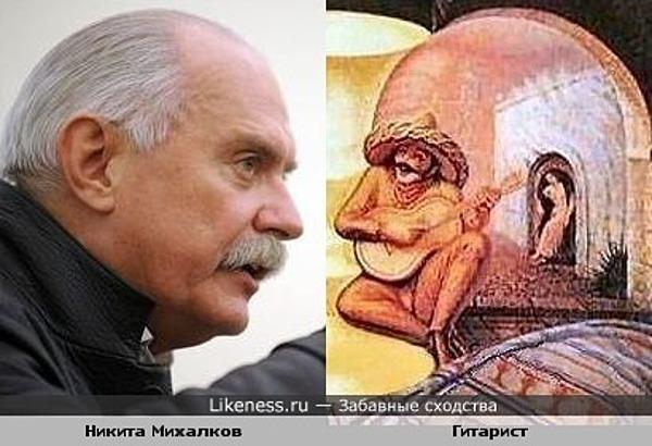 Никита Михалков похож на картинку справа