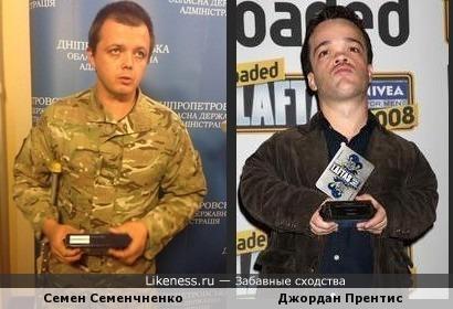 Семен Семенчненко и Джордан Прентис чем-то похожи...