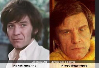 Майкл Уильямс похож на Игоря Ледогорова
