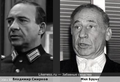Владимир Смирнов и Мел Брукс