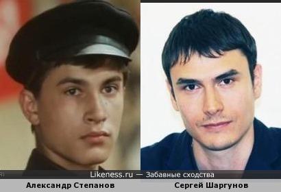 Александр Степанов и Сергей Шаргунов