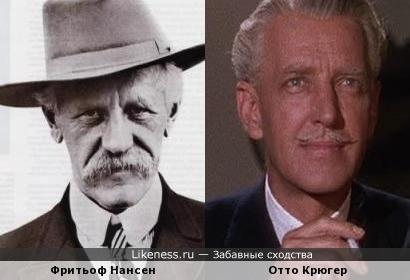 фритьоф Нансен и Отто Крюгер