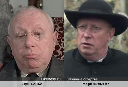 Луи Сенье и Марк Уильямс