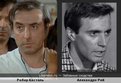 Робер Кастель и Алехандро Рей