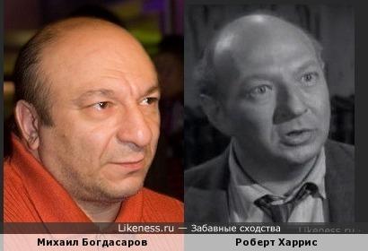 Михаил Богдасаров и Роберт Харрис