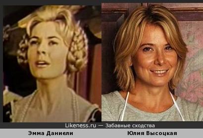 Эмма Даниели и Юлия Высоукая
