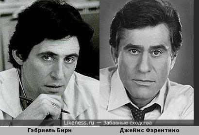 Гэбриель Бирн и Джеймс Фарентино