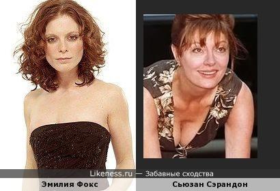 Эмилия Фокс и Сьюзан Сарандон