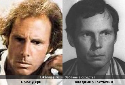 Брюс Дерн и Владимир Гостюхин