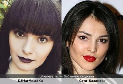 DJMarMeladKa и Сати Казанова