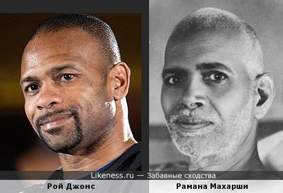 Рой Джонс похож на Раману Махарши