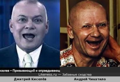 Дмитрий Киселёв похож на Андрея Чикатило