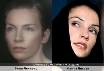 Я не знаю почему, но клип Энни Леннокс-Why напомнил мне Фамке Янссен