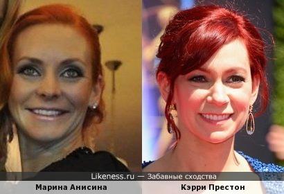 """Марина Анисина напомнила Арлин из """"Настоящей крови"""""""
