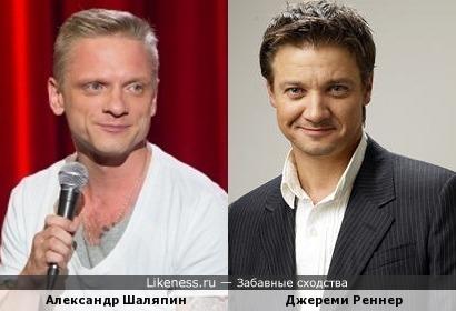 Александр Шаляпин из StandUp всегда напоминал мне Джереми Реннера