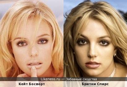 Увидев это фото Кейт Босворт, сразу пришла на ум Бритни Спирс