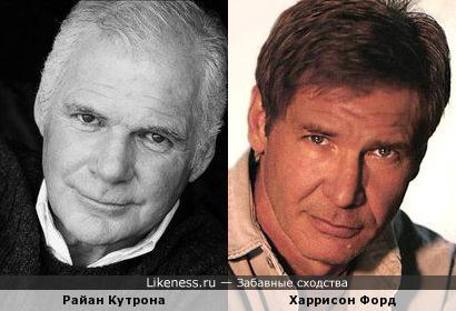Райан Кутрона и Харрисон Форд