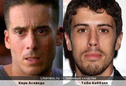 Кирк Асеведо и Тоби Кеббелл
