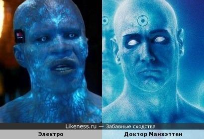 Голубые бывают добрые и злые