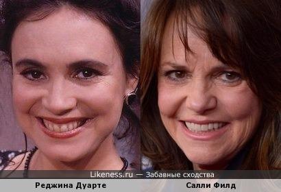 Реджина Дуарте и Салли Филд