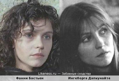 Фанни Бастьен и Ингеборга Дапкунайте