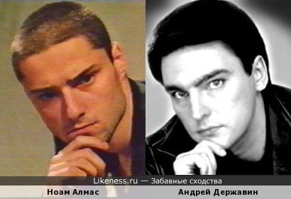 Ноам Алмас напомнил Андрея Державина