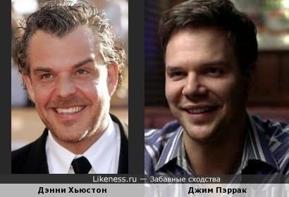 Дэнни Хьюстон и Джим Пэррак
