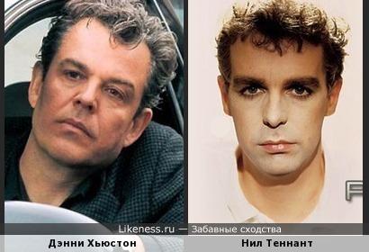 Дэнни Хьюстон и Нил Теннант