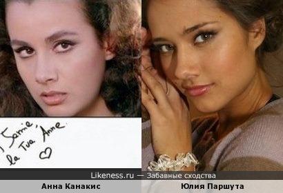 Анна Канакис и Юлия Паршута
